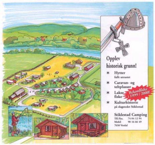 kart med campingplasser Stiklestad Camping AS | Finn campingplass | NAF Camp kart med campingplasser