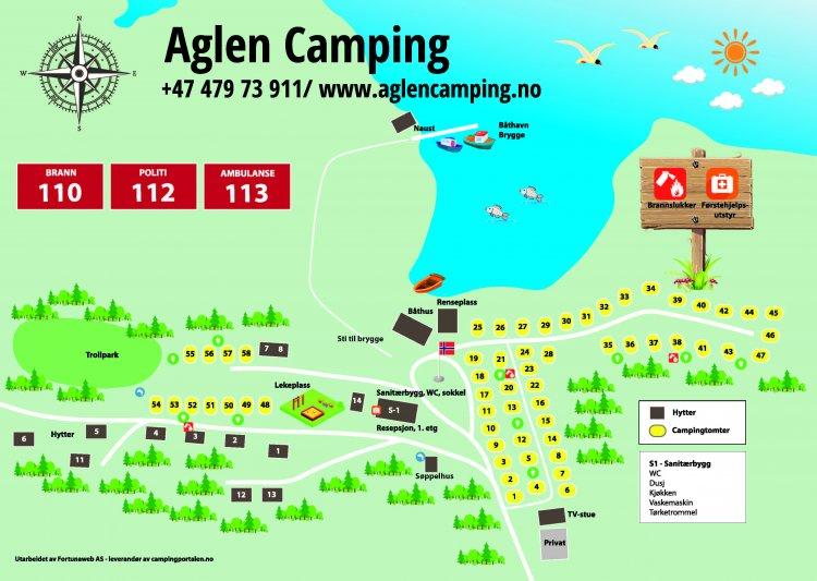 Aglen Camping A/S 1