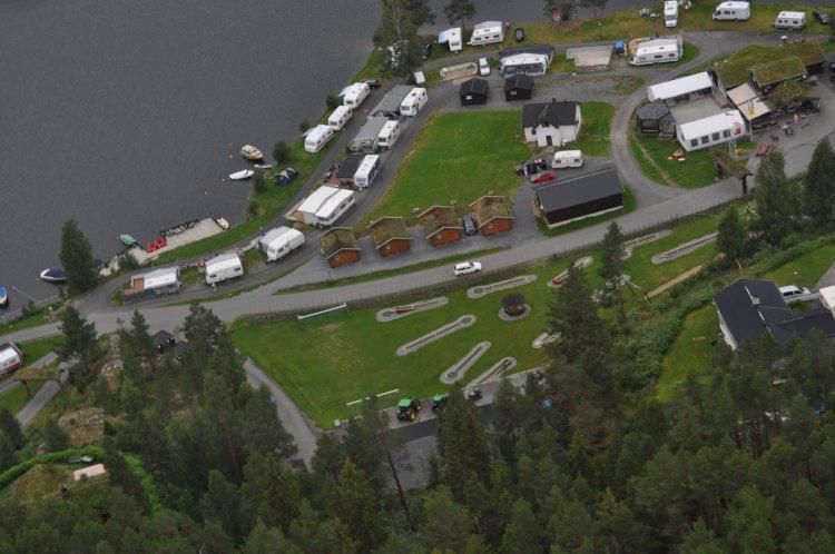 aurdal fjordcamping og hytter as campingplatz finden naf camp. Black Bedroom Furniture Sets. Home Design Ideas